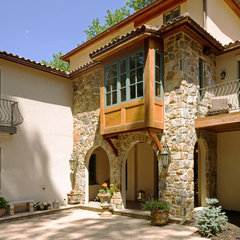 eclectic exterior by HBF plus Design