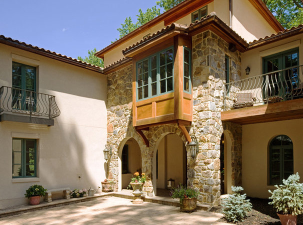 Mediterranean Exterior by HBF plus Design