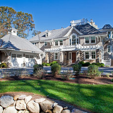 Traditional Exterior by Matthew Korn Architecture AIA