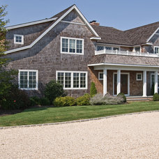 Traditional Exterior by EB Designs