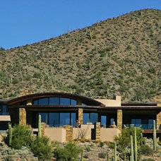 Contemporary Exterior by Beringer Fine Homes