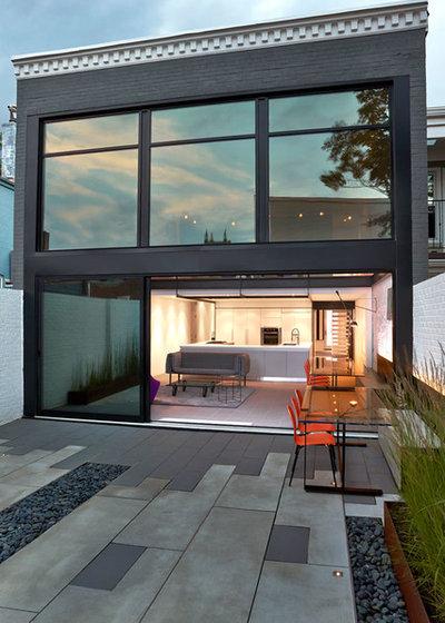 Contemporain Façade by KUBE architecture