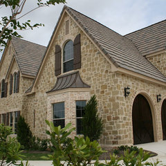 traditional exterior by Sam Allen Custom Home Design