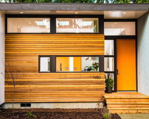 Wood strip siding home design ideas pictures remodel and - Maison rogers sturz michael lee architects ...