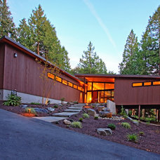 Contemporary Exterior by Roberts Wygal