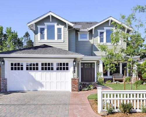 Craftsman Garage Doors Home Design Ideas Pictures