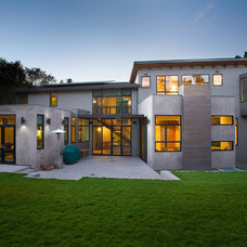 Contemporary Exterior by Aleck Wilson Architects