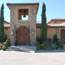 Mediterranean Exterior by Pacific Paintworx, Inc