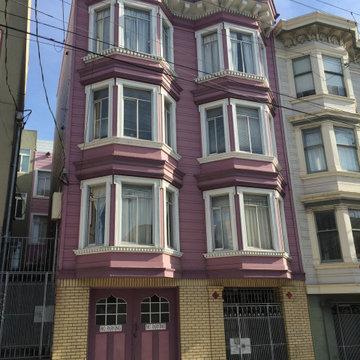 San Francisco Colorful Detail