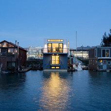 Modern Exterior by Robert Nebolon Architects