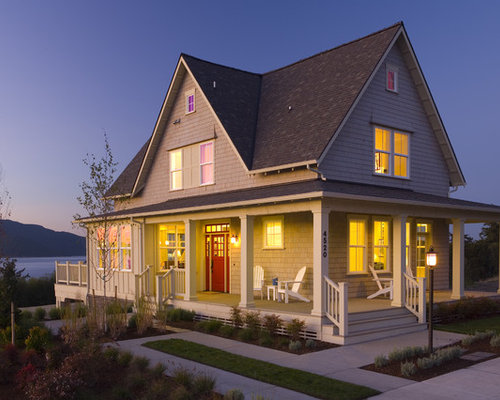Canal front waterfront home design ideas renovations photos for Canal home designs