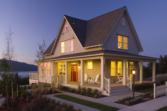 Traditional Exterior by Union Studio, Architecture & Community Design