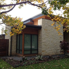 Modern Exterior by Greico Designers/Builders Dallas