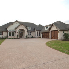 Traditional Exterior by Nalle Custom Homes