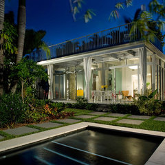 modern exterior by Robert Kaner Interior Design