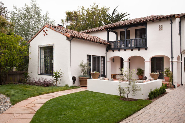 Traditional Exterior by Kari McIntosh Design