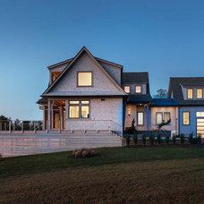 Beach Style Exterior by Union Studio, Architecture & Community Design