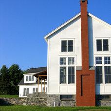 Farmhouse Exterior by Tobias Gabranski / Architecture / Vt