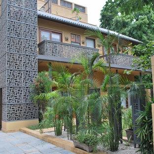 Пример оригинального дизайна: дом в восточном стиле