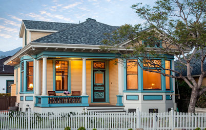 Houzz Tour:  Historic Victorian Grows to Fit Its Family