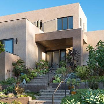 Santa Barbara Foothills, Contemporary Residence, New Construction