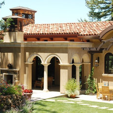 Mediterranean Exterior by William MastonArchitect & Associates