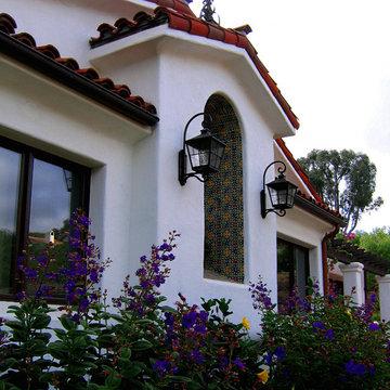 Santa Barbara style Spanish Architectural Details