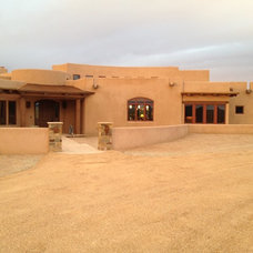 Southwestern Exterior by Shannon Kirby Interiors