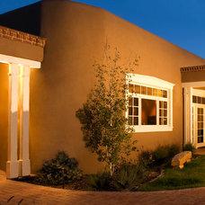 Southwestern Exterior by Bob Di Janni Custom Homes Inc.