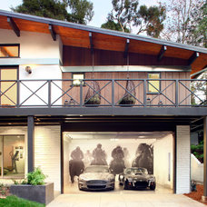 Contemporary Exterior by P2 Design