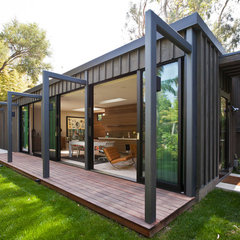 modern exterior by JENDRETZKI LLC