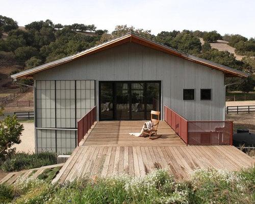 Metal Barn House
