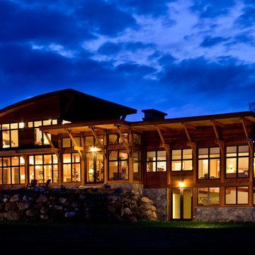 Saranac Lake house