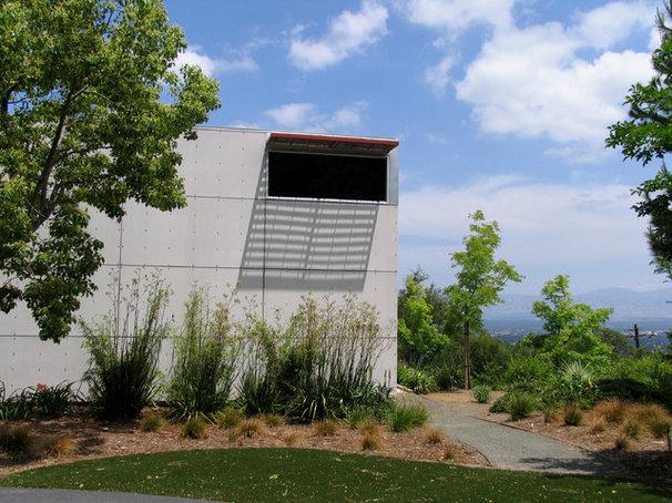 Contemporary Exterior by Design Focus Int'l Landscape Architecture & Build