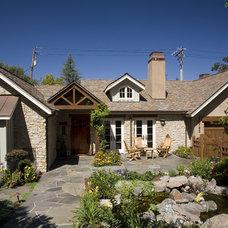 Traditional Exterior by Conrado - Home Builders
