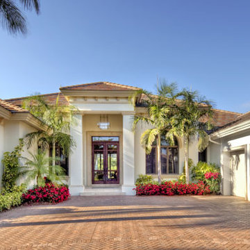 """Sater Design Collection's 6963 """"Brindisi"""" Home Plan"""