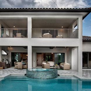 "Sater Design Collection's 6965 ""Monterchi"" Home Plan"