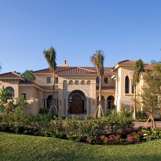 Mediterranean Exterior by Sater Design Collection, Inc.