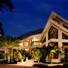 Contemporary Exterior by Sater Design Collection, Inc.