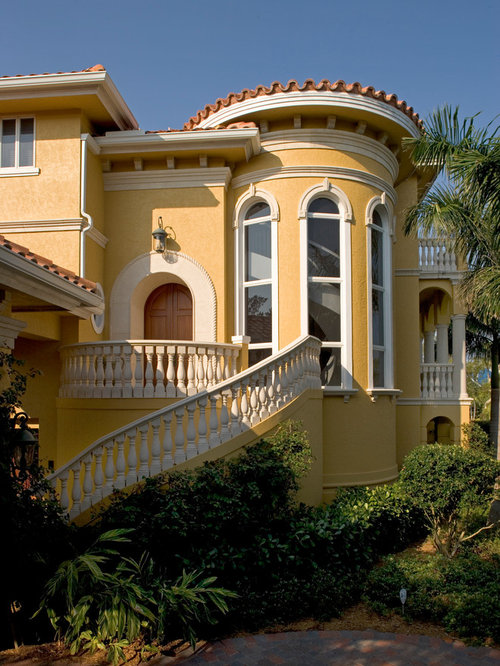 Classic elevation home design ideas pictures remodel and for Classic house elevation