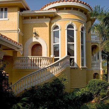 """Sater Group's """"Villoresi"""" Custom Home Design"""