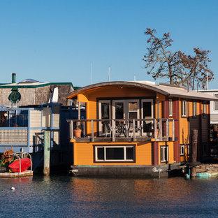 Kleines, Zweistöckiges Maritimes Haus in San Francisco