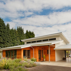 Contemporary Exterior by Luxury Home Magazine