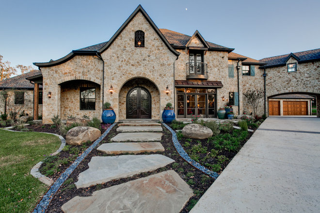 Eclectic Exterior by Atkins Design Group
