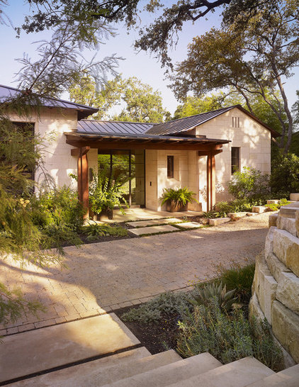 contemporary exterior by Mark Ashby Design