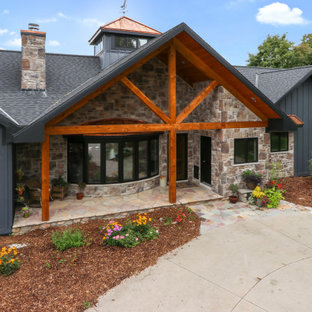 Inspiration for a cottage exterior home remodel in Other