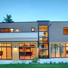 Contemporary Exterior by Ryan Rhodes Designs, Inc.