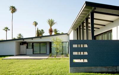 Houzz Tour: Opening Up a Midcentury Schreiber Home in Phoenix