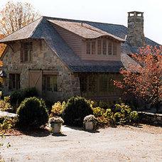 Traditional Exterior by Scott Cornelius Architect