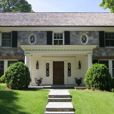 Traditional Exterior by Rock Spring Design Group LLC (David Verespy, ASLA)